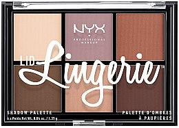 Parfumuri și produse cosmetice Paleta fard de ochi - NYX Professional Makeup Lingerie Shadow Palette