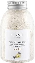 Parfumuri și produse cosmetice Sól mineralna do kąpieli Wanilia - Kanu Nature Vanilla Mineral Bath Salt