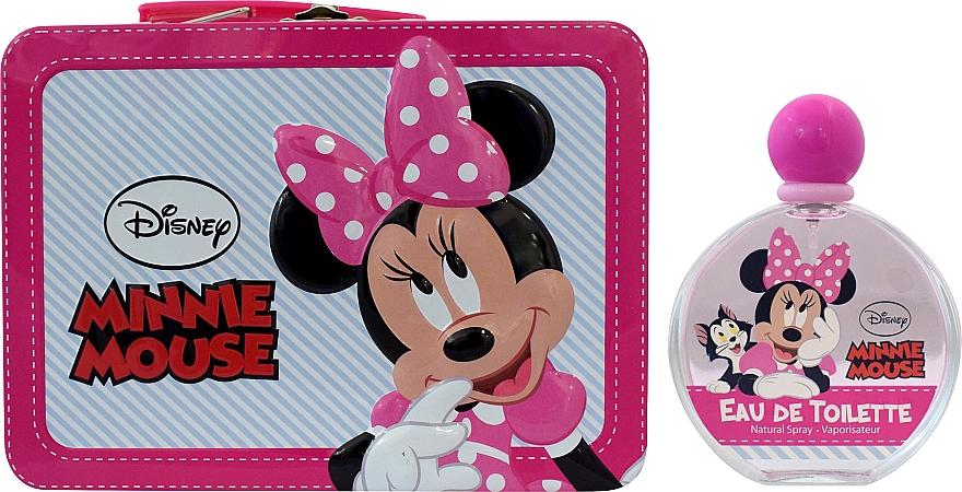 Air-Val International Disney Minnie Mouse - Set (edt/100ml + bag)