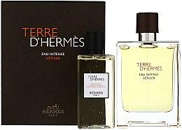 Parfumuri și produse cosmetice Terre D'Hermes Eau Intense Vetiver - Set (edp/100ml + sh/gel/100ml)