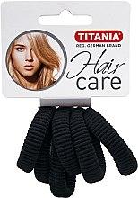 Parfumuri și produse cosmetice Резинка для волос средняя, черная - Titania