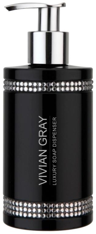 Жидкое мыло - Vivian Gray Black Crystals Soap — фото N1