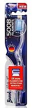 Parfumuri și produse cosmetice Periuță de dinți moale, albastră - Beverly Hills Formula 5008 Filament Multi-Colour Toothbrush