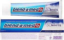 "Parfumuri și produse cosmetice Зубная паста ""Арктическая свежесть"" - Blend-A-Med 3D White Arctic Freshness"