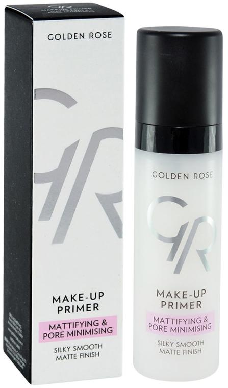 Primer pentru față - Golden Rose Make-Up Primer Mattifying & Pore Minimising