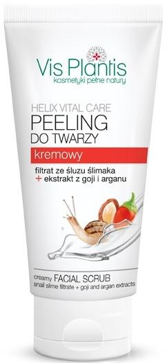 "Scrub cremos pentru față ""Goji și Argan"" - Vis Plantis Helix Vital Care Creamy Facial Scrub"