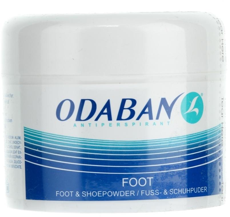 Pudră pentru picioare - Odaban Foot and Shoe Powder