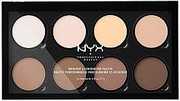 Parfumuri și produse cosmetice Paleta de contur - NYX Professional Makeup Highlight & Contour Pro Palette