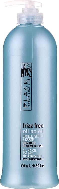 """Fluid pentru îndreptarea părului """"Fără ulei"""" pentru păr neascultator - Black Professional Line Anti-Frizz"""