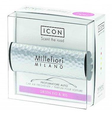 Aromatizator auto - Millefiori Milano Icon Car Air Freshener Green Fig & Iris — Imagine N1