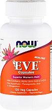 Parfumuri și produse cosmetice Multivitamine pentru femei, capsule - Now Foods Eve Womans Multi