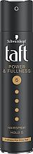 Parfumuri și produse cosmetice Lac fixativ extra puternic cu keratină - Schwarzkopf Taft Power & Fullness Hairspray