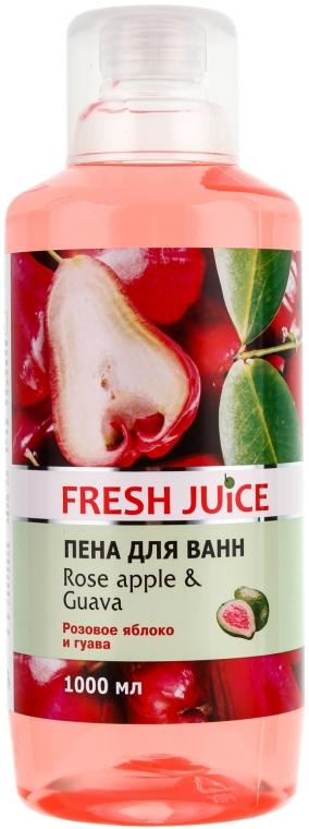 """Spumă de baie """"Trandafir și guava"""" - Fresh Juice Rose Apple and Guava"""