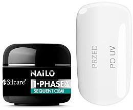 Parfumuri și produse cosmetice Gel de unghii - Silcare Nailo 1-Phase Gel UV Sequent Clear