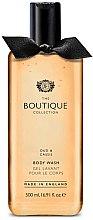 """Parfumuri și produse cosmetice Gel de duș """"Uda și coacăză neagră"""" - Grace Cole Boutique Oud & Cassis Body Wash"""