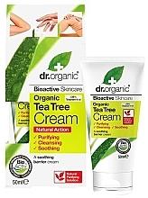 """Parfumuri și produse cosmetice Cremă calmantă de corp """"Arbore de ceai"""" - Dr. Organic Bioactive Skincare Tea Tree Cream"""