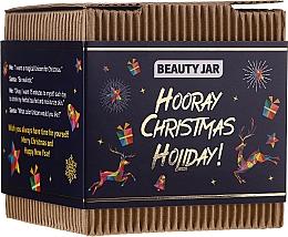 Parfumuri și produse cosmetice Set - Beauty Jar Hooray Christmas Holiday (scr/130g + soap/90g)