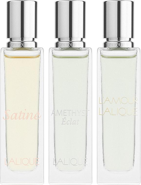 Lalique Les Romatiques - Set (edp/3x15ml)