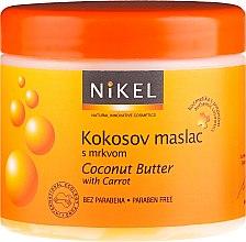 Parfumuri și produse cosmetice Ulei de cocos pentru bronzare - Nikel Coconut Butter