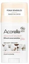 Parfumuri și produse cosmetice Deodorant stick - Acorelle Deodorant Stick Gel Cotton Powder
