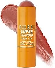 Parfumuri și produse cosmetice Multistick pentru obraji și buze - Milani Supercharged Cheek + Lip Multistick