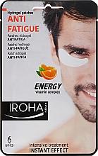 Parfumuri și produse cosmetice Patch-uri sub ochi - Iroha Nature Anti-Fatigue Energy Vitamin Complex