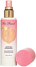 Parfumuri și produse cosmetice Spray pentru față - Too Faced Peach Mist Setting Spray