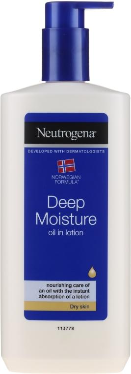 Emulsie pentru corp - Neutrogena Deep Moisture Creamy Oil