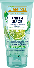 "Parfumuri și produse cosmetice Peeling facial ""Lămâie"" - Bielenda Fresh Juice Peel"
