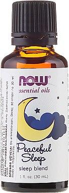 Ulei esesnțial - Now Foods Essential Oils Peaceful Sleep Oil Blend — Imagine N1