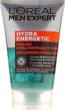 Parfumuri și produse cosmetice Peeling pentru față - Loreal Paris Men Expert Hydra Energetic Peeling
