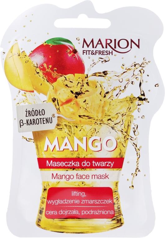 """Mască de față """"Mango"""" - Marion Fit & Fresh Mango Face Mask"""