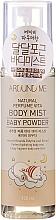 Parfumuri și produse cosmetice Mist pentru corp - Welcos Around Me Natural Perfume Vita Body Mist Baby Powder