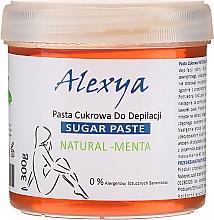 """Parfumuri și produse cosmetice Pastă pentru epilare cu zahăr """"Mentă"""" - Alexya Sugar Paste Natural Menta"""