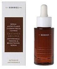 Parfumuri și produse cosmetice Ser pentru față - Korres Castanea Arcadia Serum