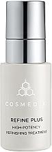 Parfumuri și produse cosmetice Ser cu efect de remodelare - Cosmedix Refine Plus High Potency Refinishing Treatment