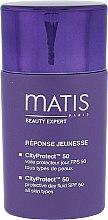 Parfumuri și produse cosmetice Fluid de zi cu protecție pentru față - Matis Paris Reponse Jeunesse CityProtect Day Fluid SPF 50