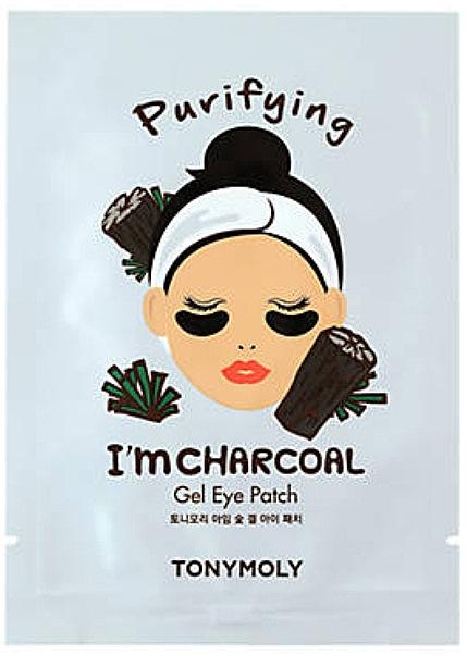Patch-uri sub ochi - Tony Moly Purifying I'm Charcoal Eye Mask — Imagine N1