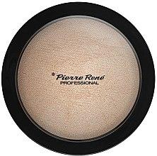 Parfumuri și produse cosmetice Pudră-iluminator de față - Pierre Rene Face Highlighting Powder
