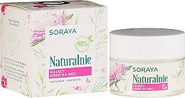 Parfumuri și produse cosmetice Cremă calmantă pentru față - Soraya Naturalnie Night Cream