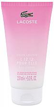 Parfumuri și produse cosmetice Lacoste Eau de Lacoste L.12.12 Pour Elle Eau Fraiche - Gel de duș