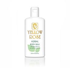 Parfumuri și produse cosmetice Mleczko do ciała - Yellow Rose Herbal Body Milk