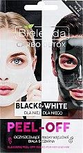 Parfumuri și produse cosmetice Mască de față - Bielenda Carbo Detox Black & White Mask
