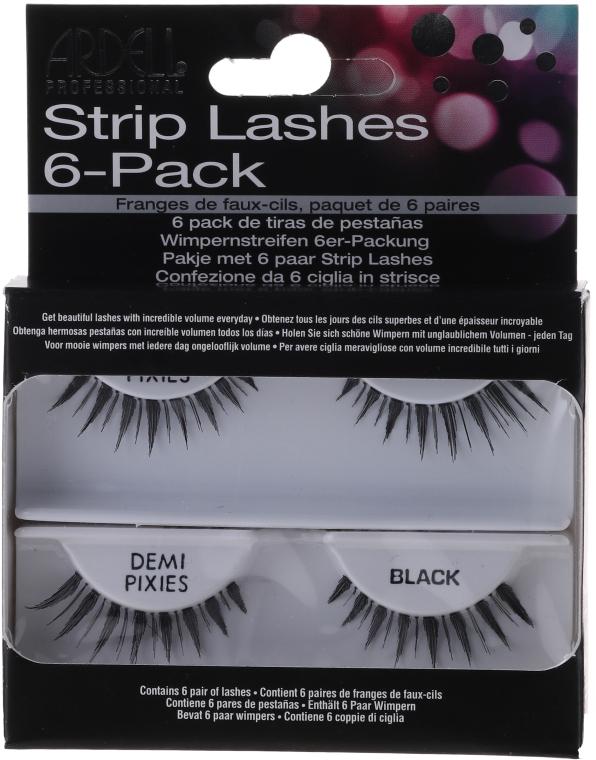 Gene false - Ardell Strip Lashes 6-Pack — Imagine N1