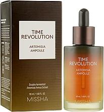 Parfumuri și produse cosmetice Ser cu extract de pelin pentru față - Missha Time Revolution Artemisia Ampoule