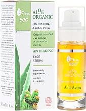 Parfumuri și produse cosmetice Ser pentru față - Ava Laboratorium Aloe Organiic Serum