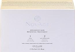 Parfumuri și produse cosmetice Peeling în două faze pentru reînnoirea pielii - Oriflame NovAge Advanced Skin Renewing Treatment