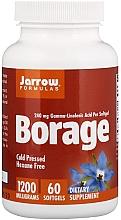 Parfumuri și produse cosmetice Suplimente nutritive - Jarrow Formulas Borage GLA-240