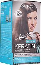 Parfumuri și produse cosmetice Set - Kativa Anti-Frizz Straightening Without Iron Xpert Repair