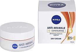 """Parfumuri și produse cosmetice Cremă de zi """"Energia tinereții 65+"""" - Nivea Anti-Wrinkle Contouring Day Care 65+"""
